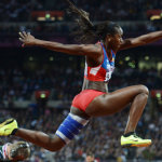 Caterine agradece a escuela cubana de atletismo