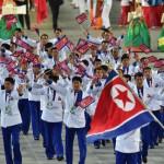 Corea del Norte planta su bandera en el Sur en los Juegos Asiáticos 2014
