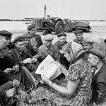 La propiedad colectiva de la tierra en la URSS