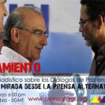 Especial periodístico sobre los diálogos de paz en La Habana. Iván Márquez