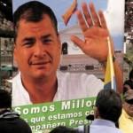 Ecuatorianos defienden Revolución Ciudadana