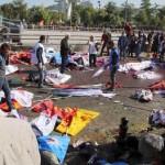 Matanza en manifestación por la paz en Ankara (Turquía)