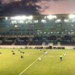 Grecia, la protesta de los futbolistas a favor de los refugiados