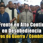 Presos de FARC en Cómbita (Boyacá) siguen en desobediencia