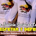 Por la vida y los derechos humanos de la izquierda colombiana