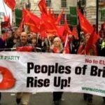 Comunistas británicos instan a votar contra la Unión Europea